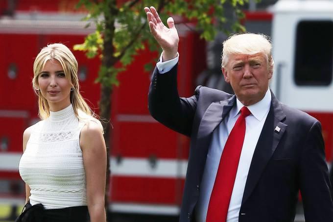 Ivanka Trump e Donald Trump