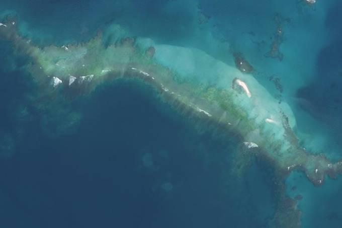 Ilha desaparece após furacão no Havaí