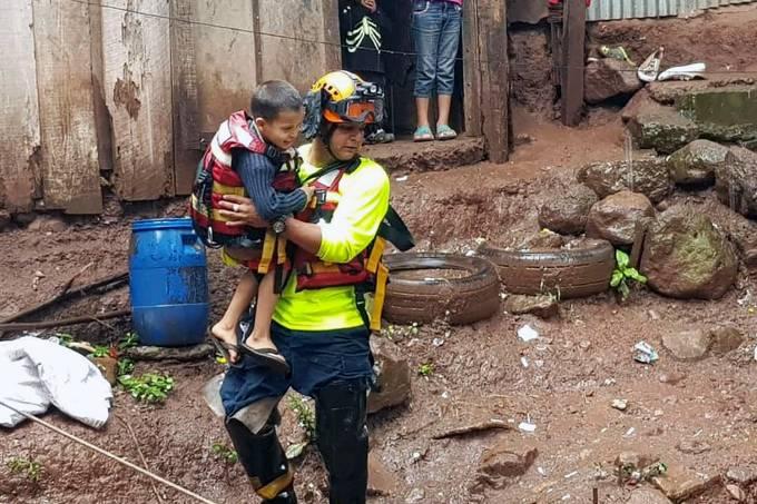 Inundação Honduras