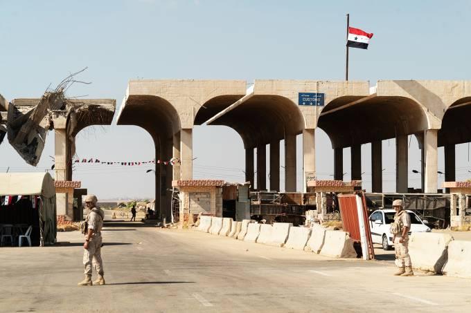 Fronteira entre Jordânia e Síria