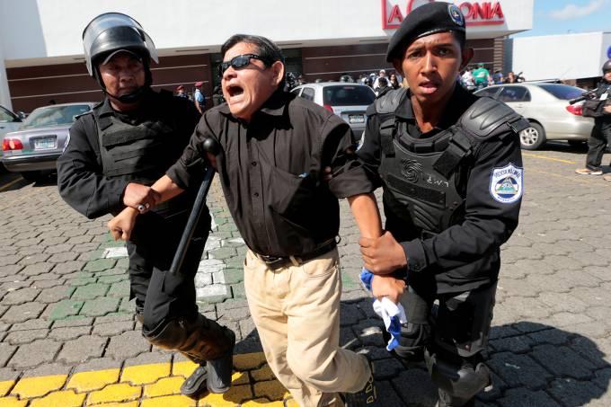 Protesto na Nicarágua
