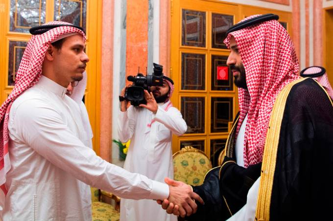 Salah Khashoggi e Mohammed bin Salman