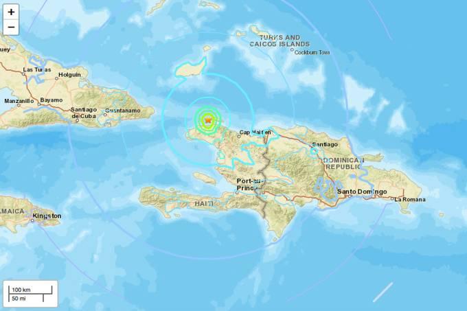 Terremoto de 5.9 atinge o Haiti