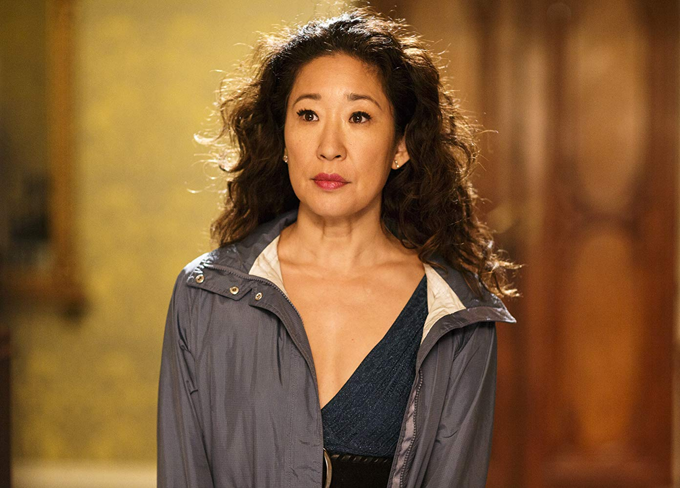 Sandra Oh em 'Killing Eve'