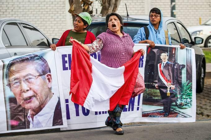 Protesto Peru