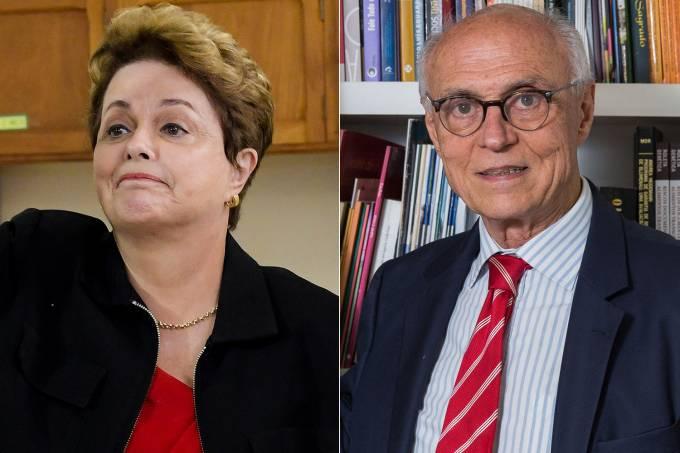 Dilma Rousseff e Eduardo Suplicy