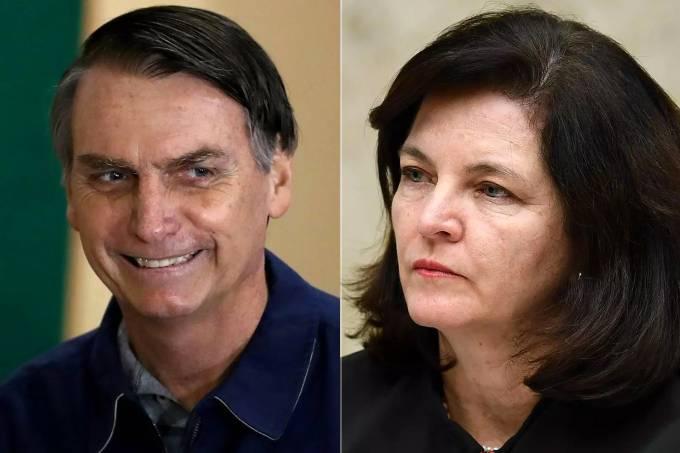 Jair Bolsonaro e Raquel Dodge
