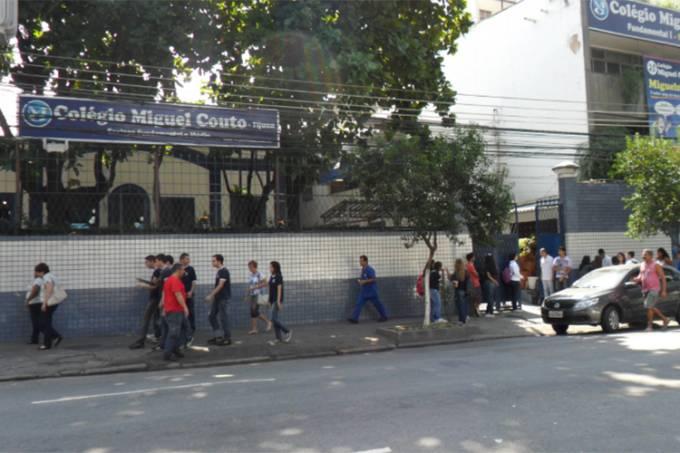 Colégio Miguel Couto, no bairro da Tijuca
