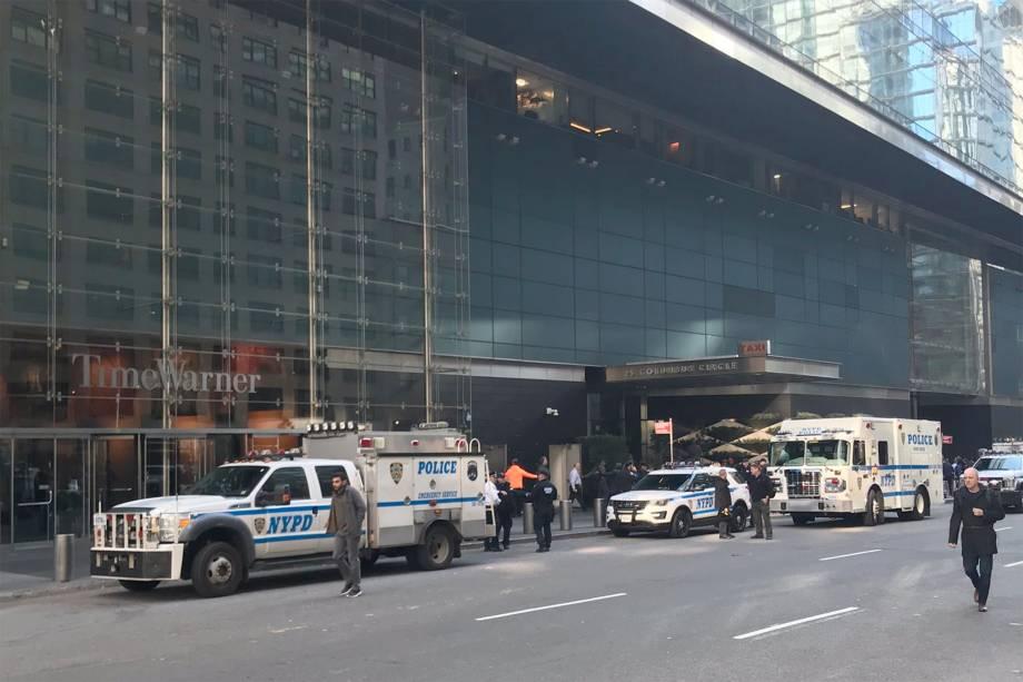 Edifício da Time Warner é esvaziado após ameaça de bomba em Nova York