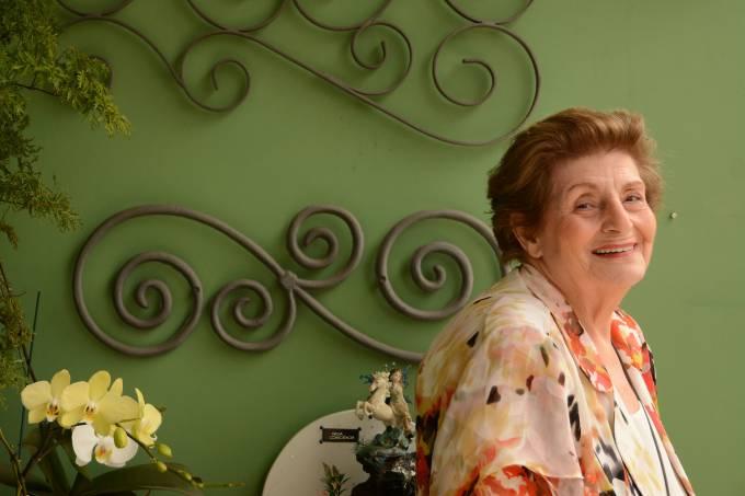 A escritora Zibia Gasparetto