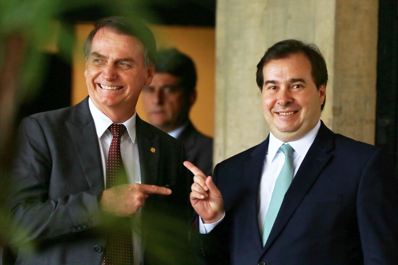 Previdência: Bolsonaro e governistas tentam contornar crise com Maia | VEJA