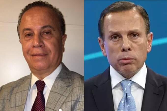 Camilo Cristófaro e João Doria