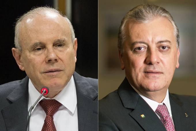 Guido Mantega e Aldemir Bendine