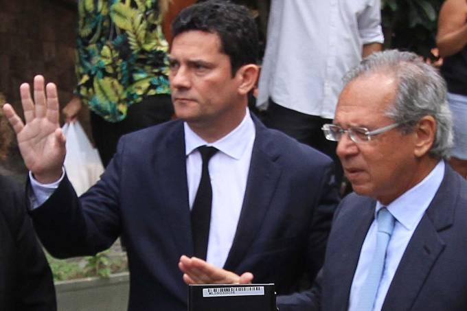 Moro se reúne com Bolsonaro no Rio