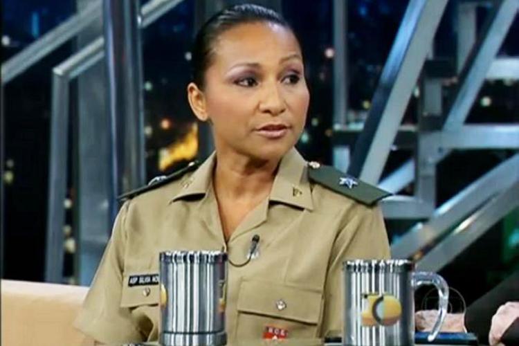 Silvia Waiãpi concede entrevista ao ´Programa do Jô´, na TV Globo