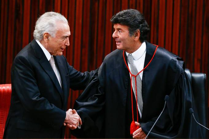 Michel Temer e Luiz Fux