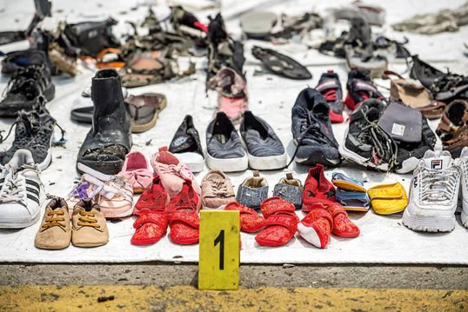 Imagem da Semana – Acidente aéreo na Indonésia