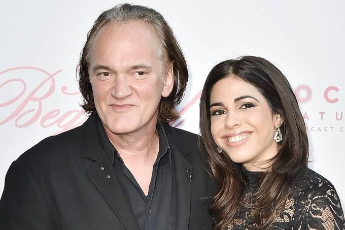 Quentin Tarantino e Daniella Pick