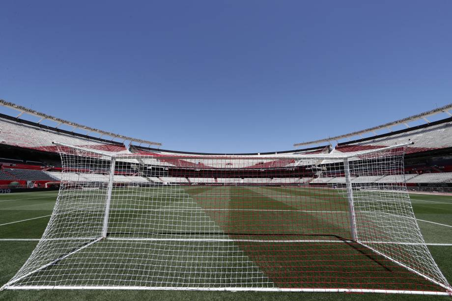 Monumental de Nuñez fica vazio após a final da Libertadores entre River Plate e Boca Juniors ser adiada - 25/11/2018