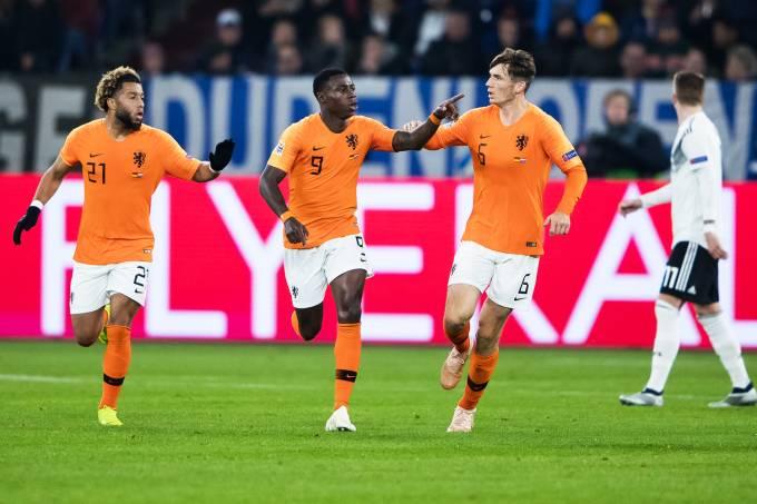 Liga das Nações – Alemanha x Holanda