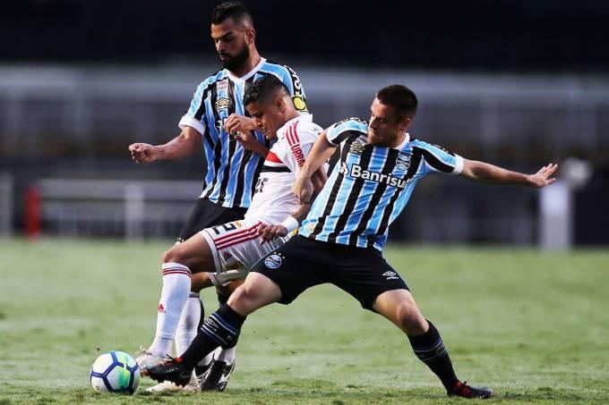 Campeonato Brasileiro – São Paulo x Grêmio