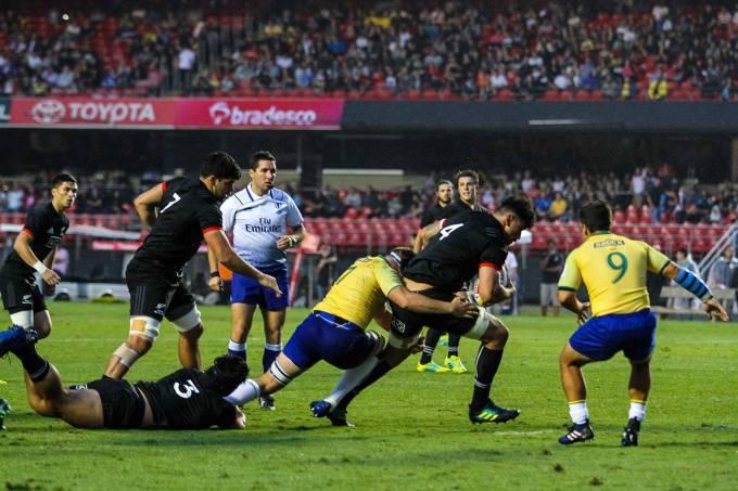 Amistoso – Brasil Rugby x All Blacks Maori (NZL)