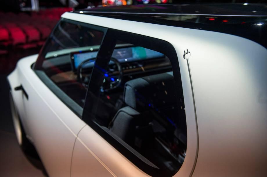 Honda Urban EV Concept  é apresentado durante a abertura do Salão do Automóvel 2018 para a imprensa, no São Paulo Expo - 06/11/2018