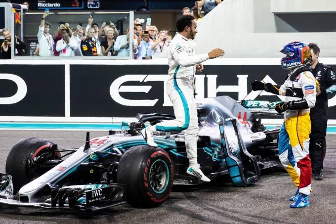 Fernando Alonso se despede da F1