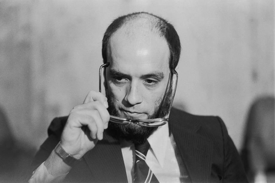 """Inspetor João Augusto da Rosa, conhecido com """"Irno"""", comandante da operação que sequestrou os uruguaios Lilián Celiberti e Universindo Dias - 1979"""