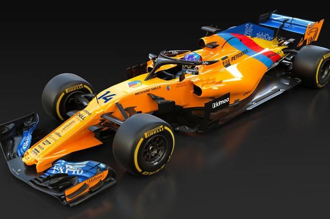 McLaren cria pintura especial para despedida de Fernando Alonso