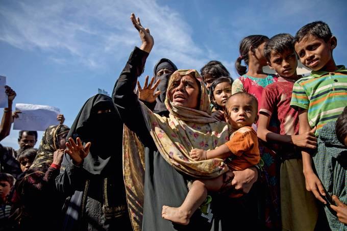 Refugiados em Myanmar