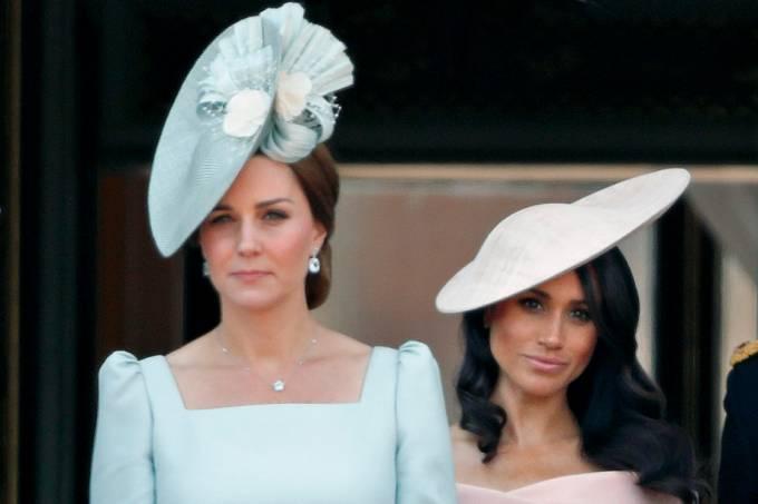 Mundialista: Kate Middleton e Meghan Markle