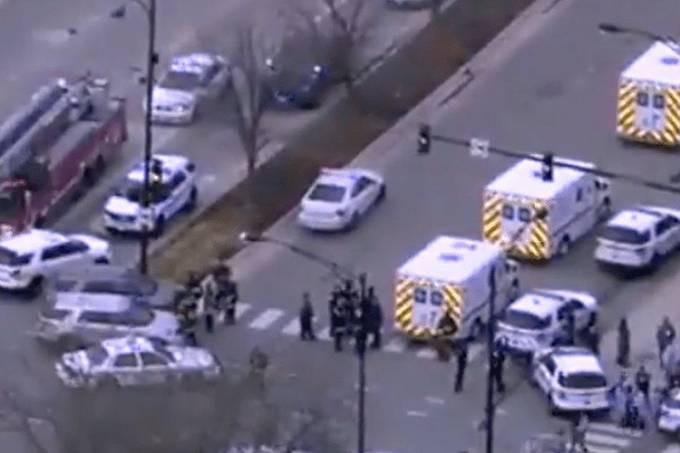 Tiroteio em hospital de Chicago deixa vítimas