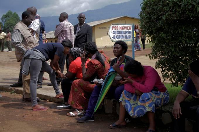 Crianças sequestradas em escola em Camarões