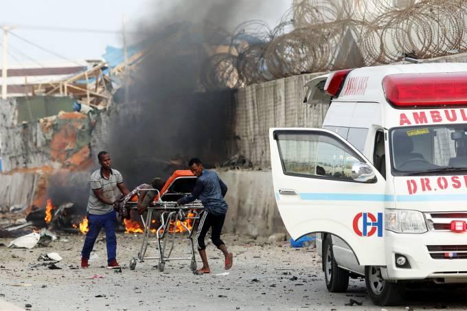 Explosão na Somália