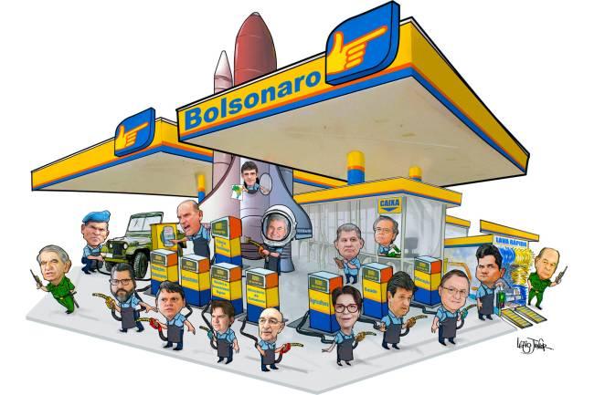 Posto Bolsonaro