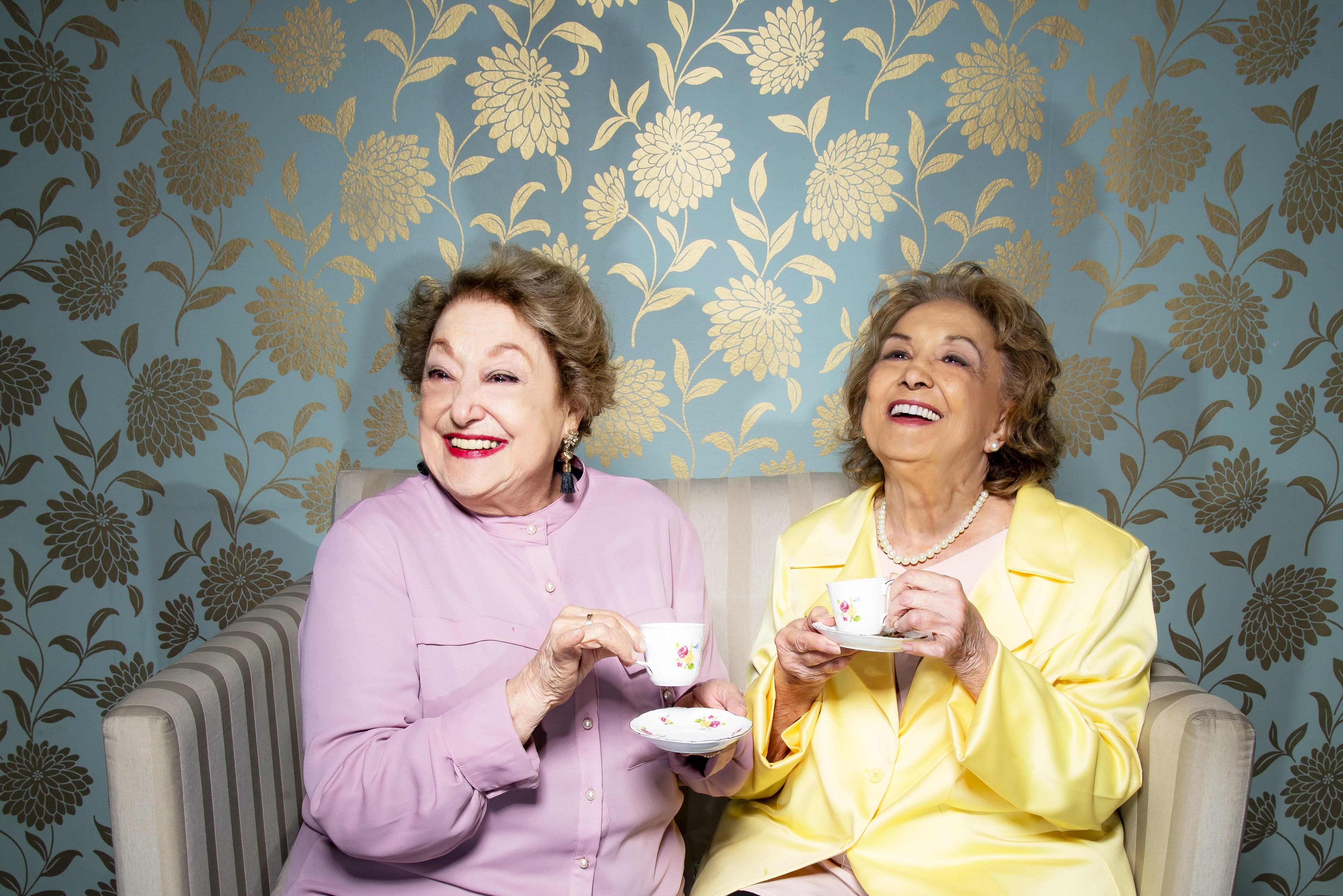 Suely Franco e Eva Wilma contracenam em 'Quarta-Feira, Sem Falta, Lá em Casa'