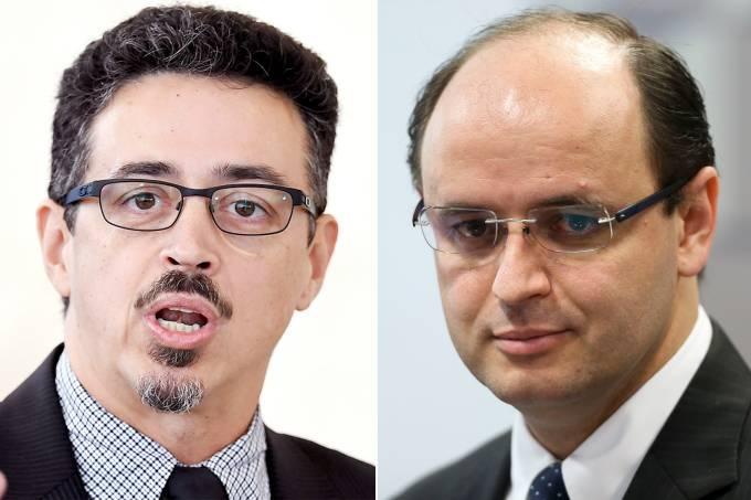 Sérgio Sá Leitão e Rossieli Franco