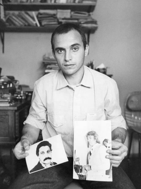 Universindo Díaz, exilado uruguaio sequestrado em novembro de 1978 junto com Lilían Celiberti, em Porto Alegre - 01/11/1983