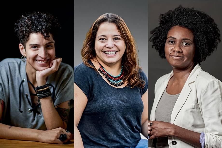 Anna Castanha, Carolina Ignarra e Priscila Gama: Indicadas ao Prêmio VEJA-se na categoria 'Diversidade'