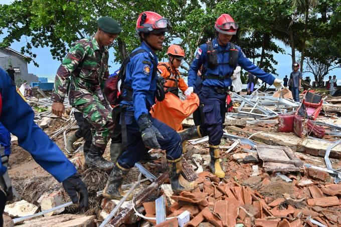 Indonésia tsunami