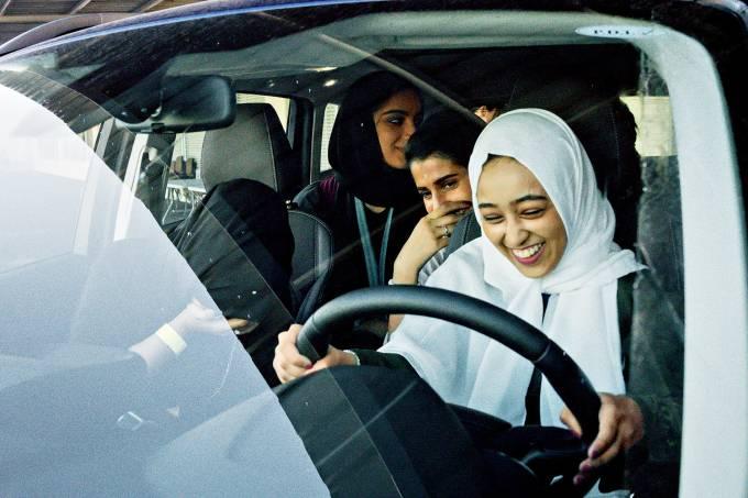 Mulheres habilitadas na Arábia Saudita