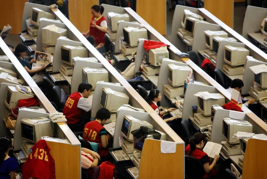 Bolsa de Valores de Xangai em junho de 2009