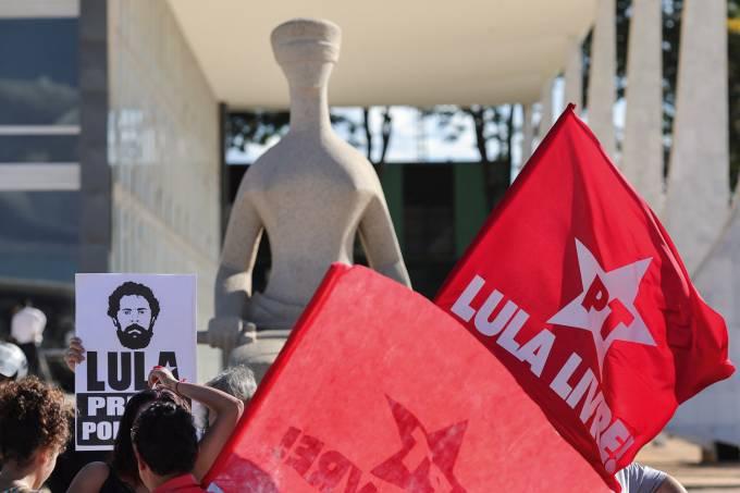Protesto no STF