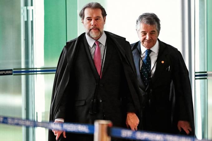 Dias Toffoli e Marco Aurélio Mello