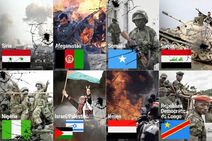 Jogo de forças mundial: conflitos armados para acompanhar em 2019