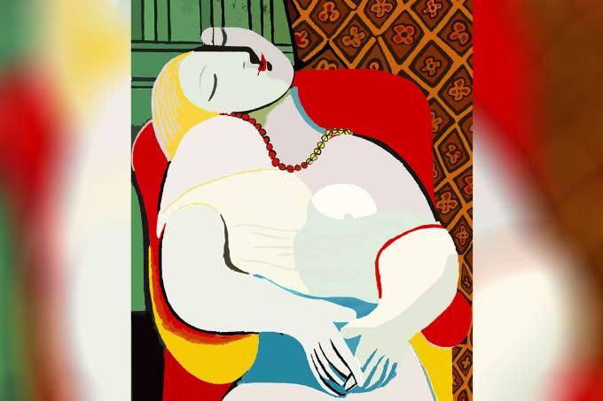 """""""The Dream"""", de Pablo Picasso"""