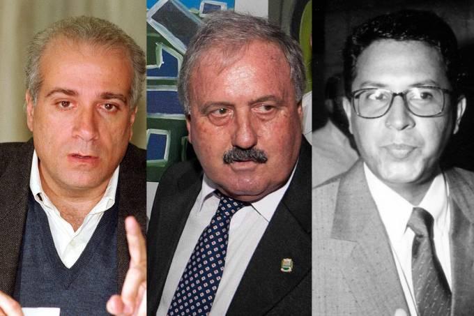 Celso Daniel, Braz Paschoalin e Edmundo Pinto