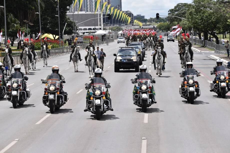Ensaio para a posse do Presidente eleito Jair Bolsonaro em Brasília