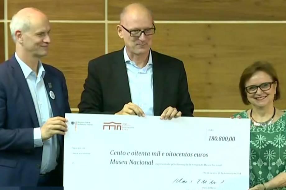 Museu Nacional recebe doação de 180 mil euros da Alemanha
